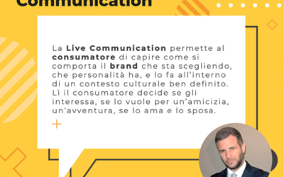 Life in Live Communication! Due chiacchiere con Gustavo Calì