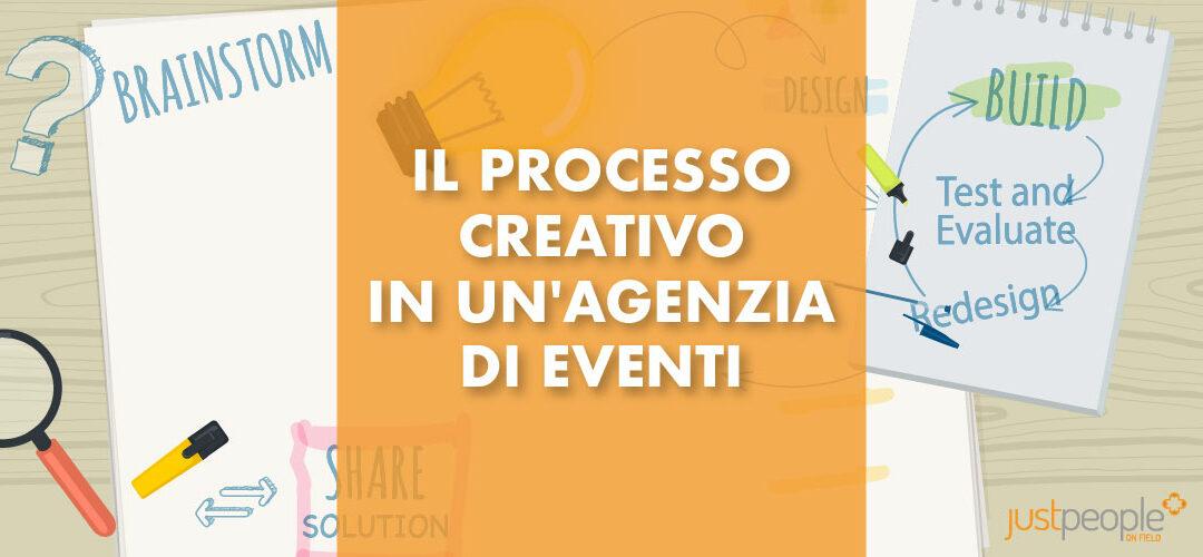 Il processo creativo in un'agenzia di eventi